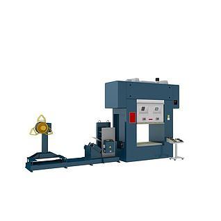 流水作业机器3d模型