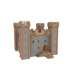 欧式建筑城堡模型3d模型