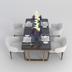 家庭餐桌3D模型3d模型