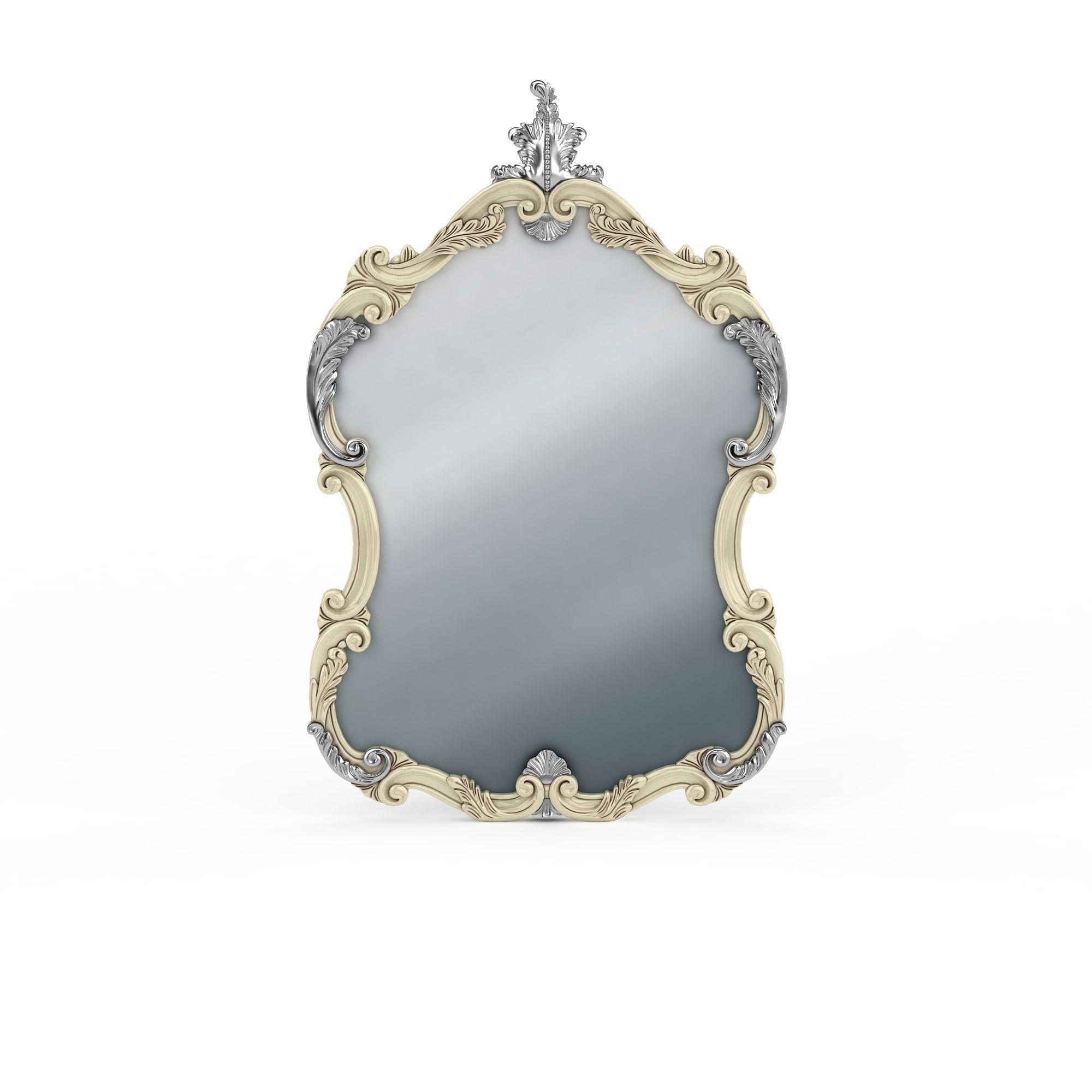 欧式装饰镜子高清图下载