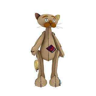 玩具猫布偶3d模型