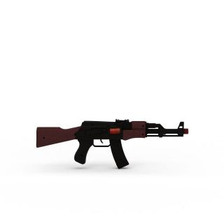 <font class='myIsRed'>儿童玩具</font>枪3d模型