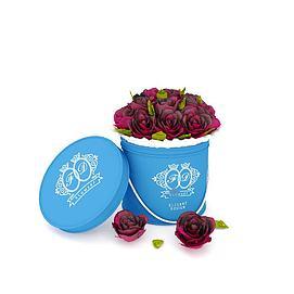 3d玫瑰花礼品盒模型