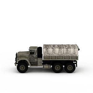 3d<font class='myIsRed'>货车</font>模型