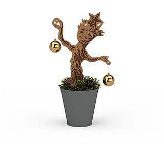 装饰<font class='myIsRed'>圣诞</font>树3d模型