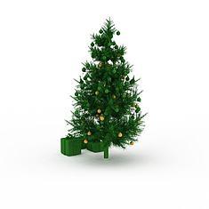 圣诞树3D模型3d模型