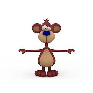 3d<font class='myIsRed'>猴子</font>模型