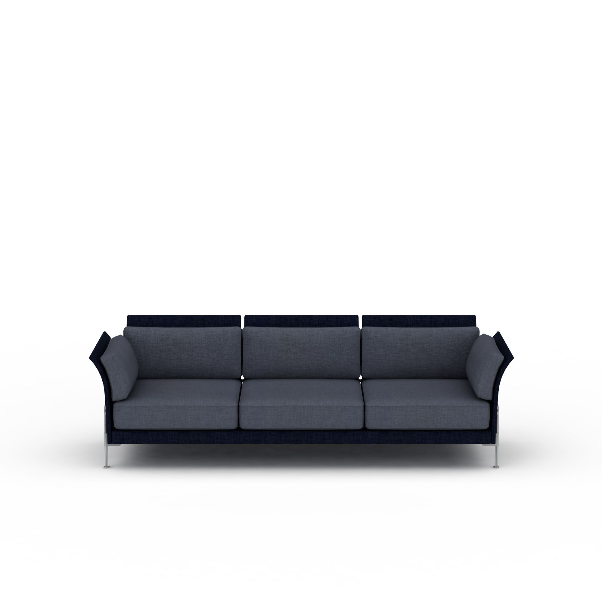 风格 欧式 上传时间 2016/03/03  关键词:客厅多人沙发3d模型灰色沙发