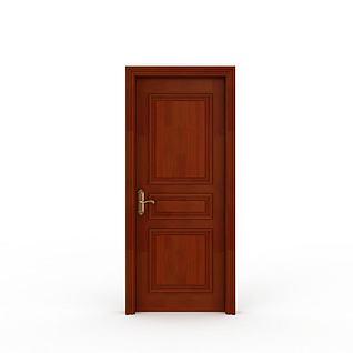 室内家居装饰门3d模型