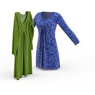 现代女士服装3D模型3d模型