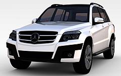 奔驰商务车模型3d模型