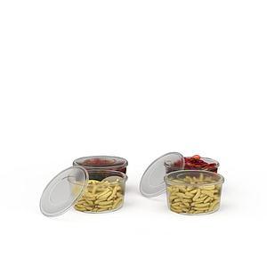 3d<font class='myIsRed'>食物</font>礼盒模型