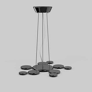 创意客厅吊灯3d模型3d模型