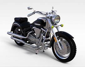 3d雅马哈<font class='myIsRed'>摩托车</font>模型
