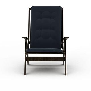 现代商务办公椅3d模型