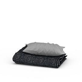 床上用品3d模型