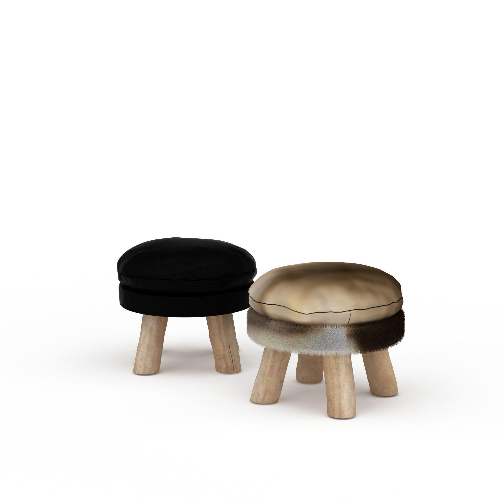 家具组合 凳 休息凳子3d模型 休息凳子png高清图