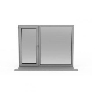 家庭窗户3d模型