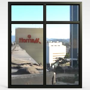 家用窗户模型