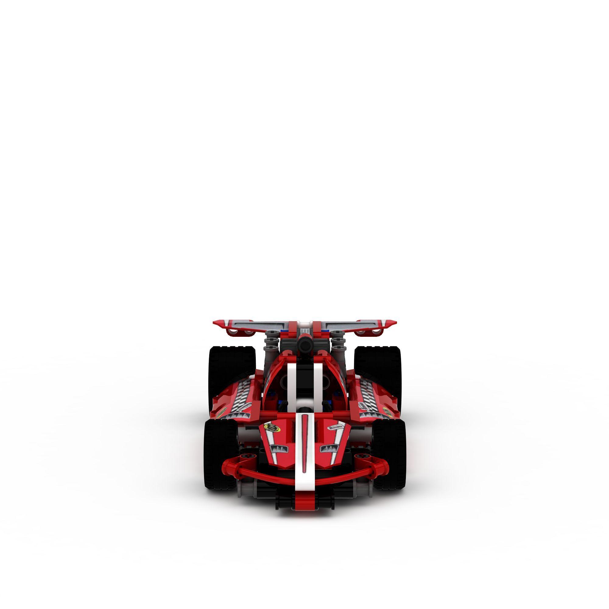 乐高赛车3d模型乐高积木3d模型