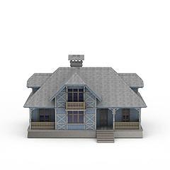 小别墅模型3d模型