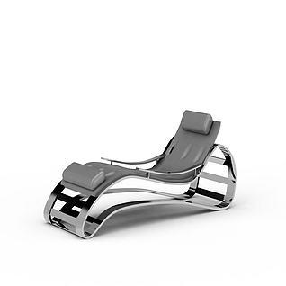 健身椅3d模型