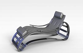 健身椅模型