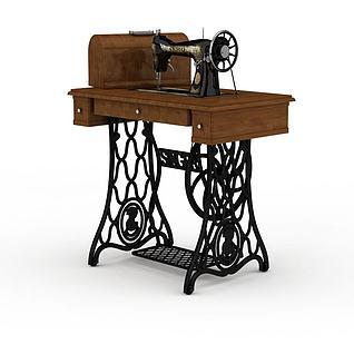 缝纫机3d模型