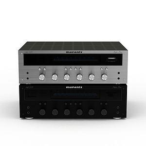 影音设备模型3d模型