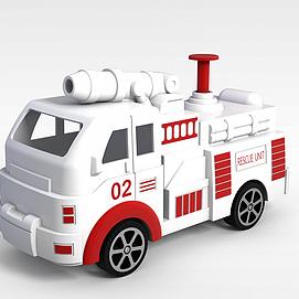 3d玩具汽车模型