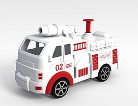 玩具汽车3d模型