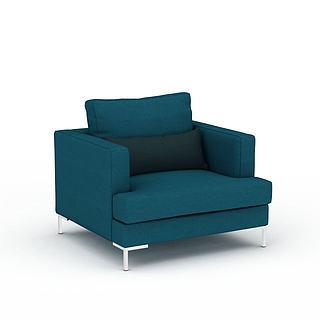 单人<font class='myIsRed'>沙发</font>3d模型