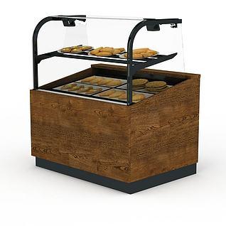 糕点柜3d模型