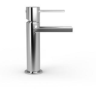 不锈钢水龙头3d模型