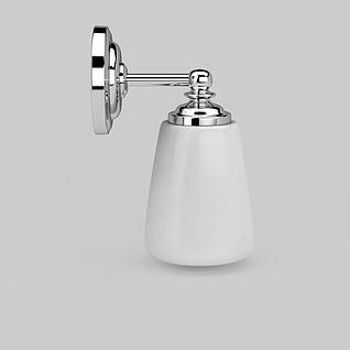 白色壁灯3d模型