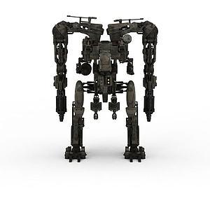3d軍事<font class='myIsRed'>機器人</font>模型