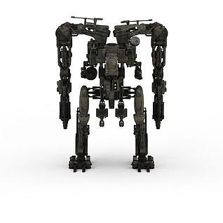 军事机器人3d模型