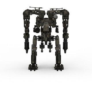 军事<font class='myIsRed'>机器人</font>3d模型