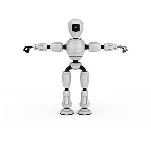 3d<font class='myIsRed'>機器人</font>模型