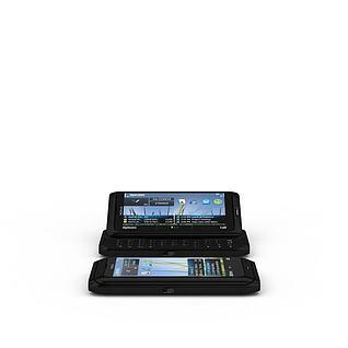 推拉式手机3d模型