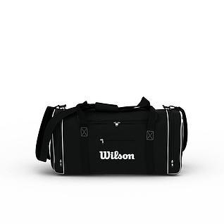单肩背包3d模型