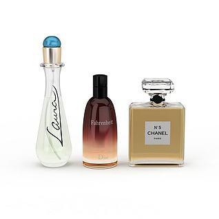 香奈儿香水3d模型