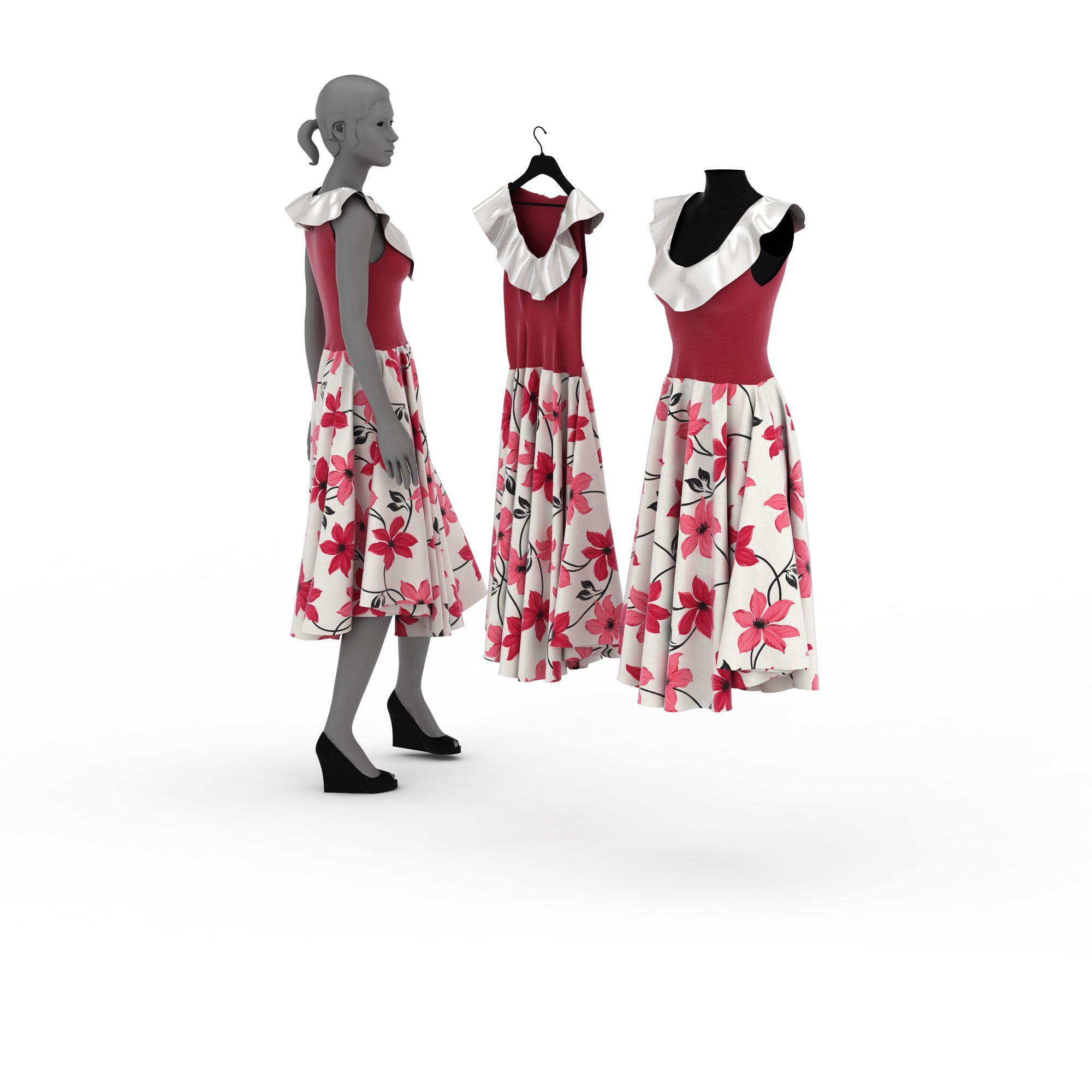 女士模特裙子图片_女士模特裙子png图片素材_女士模特