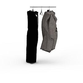 3d女士<font class='myIsRed'>衣服</font>模型
