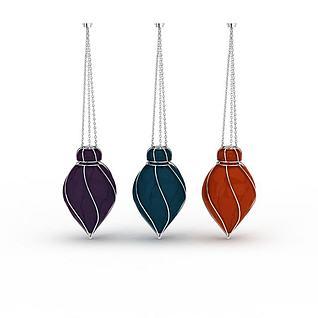 装饰吊灯组合3d模型