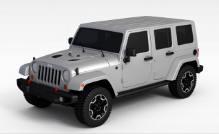 3djeep车模型