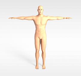 男人模特3d模型