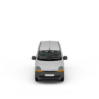 载人客车3d模型