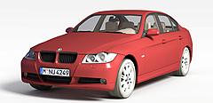 宝马轿车模型3d模型