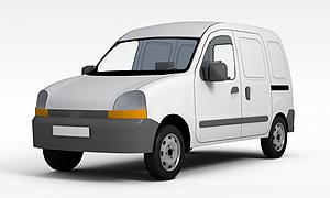 3d運貨汽車模型